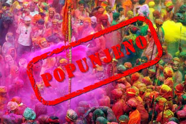 Indija - Holi festival (low cost)